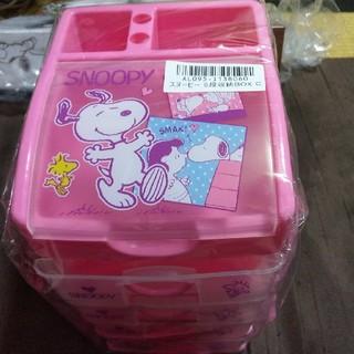 スヌーピー(SNOOPY)のスヌーピー 5段収納BOX(ケース/ボックス)
