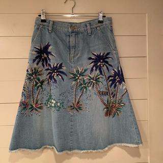 ケイタマルヤマ(KEITA MARUYAMA TOKYO PARIS)のケイタマルヤマ デニムスカート サイズ1(ひざ丈スカート)