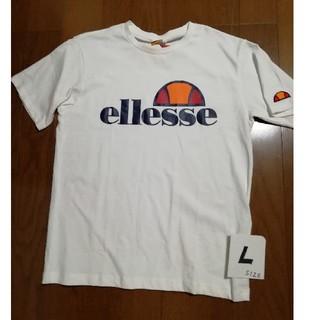 エレッセ(ellesse)の値下げ❗ellesse Heritage T 白ユニセックスL 未使用タグ付(Tシャツ/カットソー(半袖/袖なし))