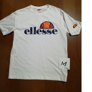 エレッセ(ellesse)の値下げ❗ellesse  Heritage T 白ユニセックスM未使用タグ付(Tシャツ/カットソー(半袖/袖なし))