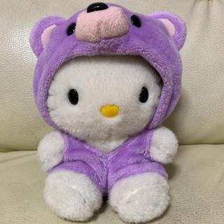 ハローキティ(ハローキティ)のSanrio ハローキティ ご当地キティ 北海道限定 ラベンダーキティ 中型人形(ぬいぐるみ/人形)