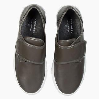 マリメッコ(marimekko)のマリメッコ  スニーカー レザー  Marka leather sneakers(スニーカー)