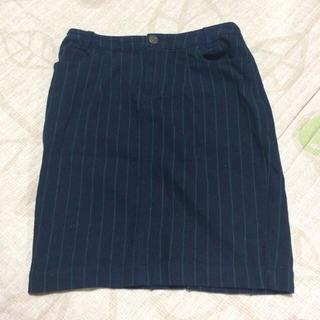 ローリーズファーム(LOWRYS FARM)のストライプタイトスカート(ミニスカート)
