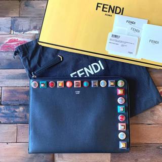 フェンディ(FENDI)の【新品 タグ付き】フェンディ クラッチバッグ(クラッチバッグ)