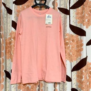 モンベル(mont bell)のモンベル レディース 長袖 Tシャツ ピンク 新品(Tシャツ(長袖/七分))