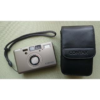キョウセラ(京セラ)のCONTAX T3D(コンタックスデータバック)《中古美品・送料込》(フィルムカメラ)