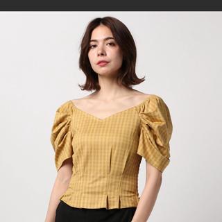 セシルマクビー(CECIL McBEE)のセシル ボリューム袖 オフショル(シャツ/ブラウス(半袖/袖なし))