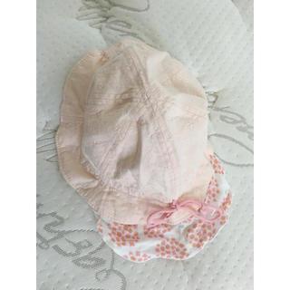 アカチャンホンポ(アカチャンホンポ)の美品 アカチャンホンポ♡日除けつき帽子46㎝(帽子)