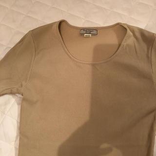 ポールスチュアート(Paul Stuart)のポールスチュアート シルク トップス(カットソー(半袖/袖なし))