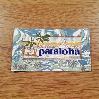 パタゴニア(patagonia)のpatagonia patalohaステッカー(シール)