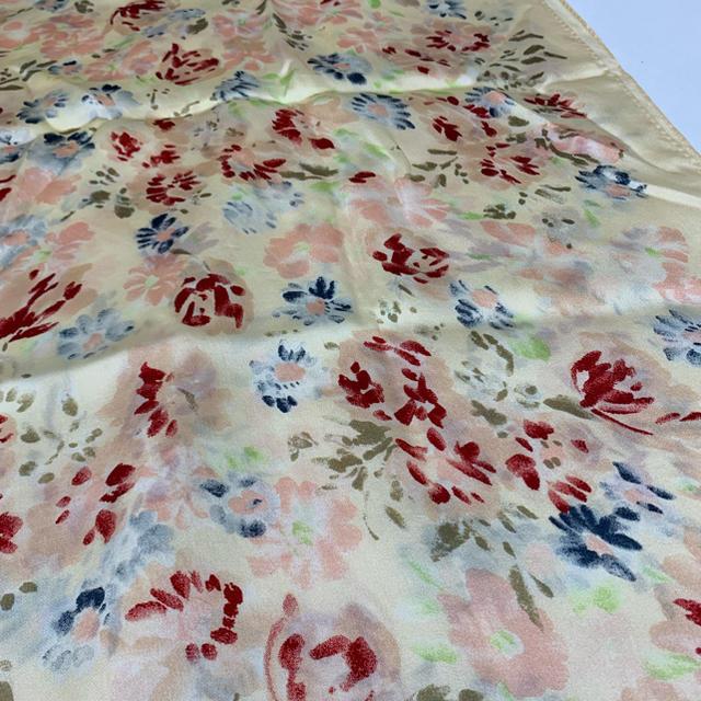 Ralph Lauren(ラルフローレン)のSS14 used ralph lawren flower scarf レディースのファッション小物(バンダナ/スカーフ)の商品写真