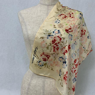 SS14 used ralph lawren flower scarf