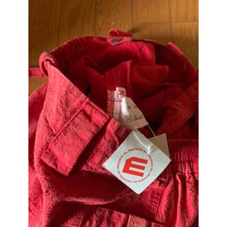 エルロデオ(EL RODEO)の大幅値下げ中 エルロデオ 赤 パンツ 新品タグ付き サロペット off(サロペット/オーバーオール)