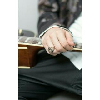 ラッドミュージシャン(LAD MUSICIAN)のラッドミュージシャン リング指輪 花柄シャツshareef STUDIOS(リング(指輪))