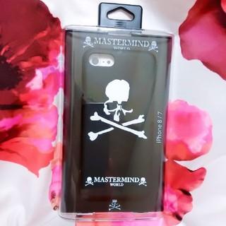 マスターマインドジャパン(mastermind JAPAN)の新品未開封*MASTERMIND*WORLD*iPhoneケース*7/8(iPhoneケース)