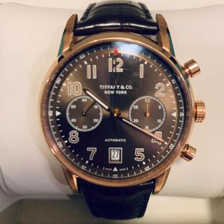 ティファニー(Tiffany & Co.)のTIFFANY ティファニー CT60 クロノ ピンクゴールド 国内正規品 美品(腕時計(アナログ))