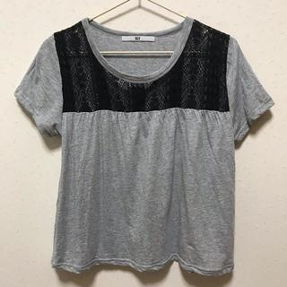 スライ(SLY)の美品 スライ レースTシャツ moussy EMODA ZARA(Tシャツ(半袖/袖なし))
