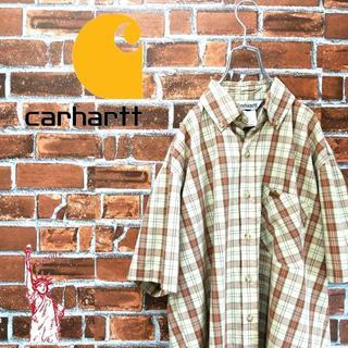 カーハート(carhartt)の【激レア】カーハート☆90s激渋カラーロゴタグ BDチェックシャツ(シャツ)