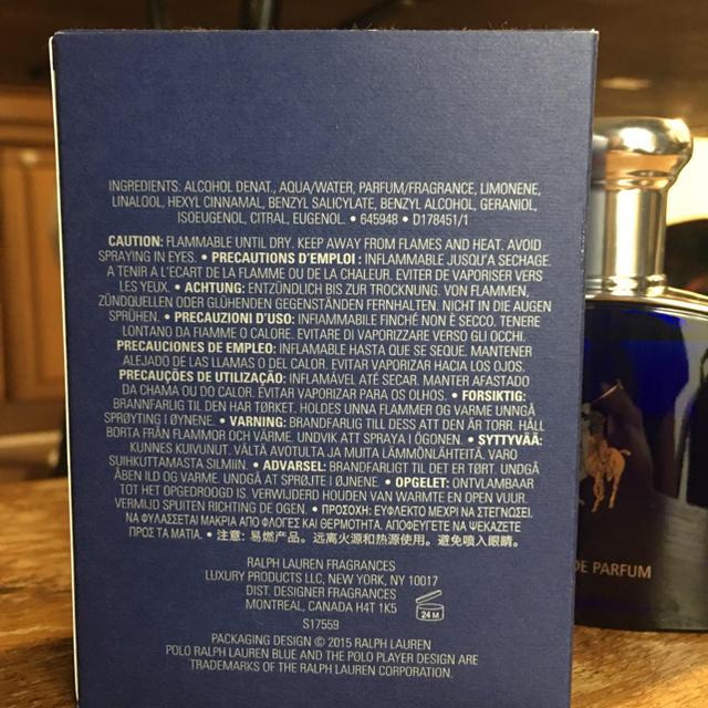 Ralph Lauren(ラルフローレン)のyottyann2929様専用★オードパルファム  POLO ポロ 75ml コスメ/美容の香水(香水(男性用))の商品写真