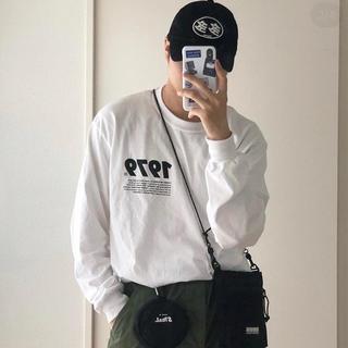 メゾンキツネ(MAISON KITSUNE')のyouth loser × タワーレコード コラボ ロンT(Tシャツ/カットソー(七分/長袖))