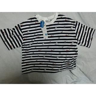 ハローキティ(ハローキティ)の最終ボーダーハローキティT シャツ(Tシャツ(半袖/袖なし))