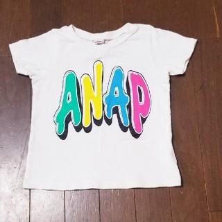 アナップキッズ(ANAP Kids)のANAPTシャツカラフルロゴ(Tシャツ/カットソー)