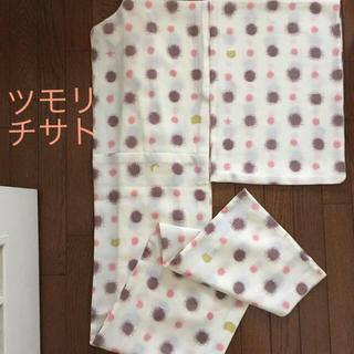 ツモリチサト(TSUMORI CHISATO)のツモリチサト ドット柄 浴衣 白(浴衣)