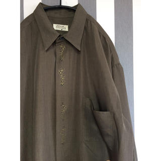 ビンテージ オーバーサイズ ポリシャツ(シャツ/ブラウス(長袖/七分))