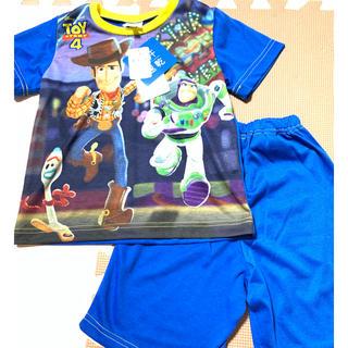 トイストーリー(トイ・ストーリー)のトイストーリー4 パジャマ 上下 半袖 100 フォーキー ディズニー(パジャマ)
