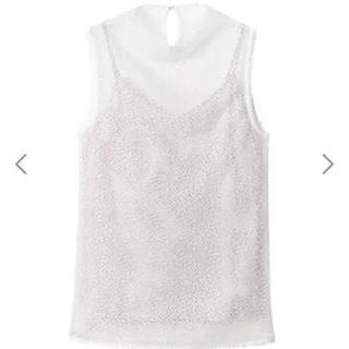 ルシェルブルー(LE CIEL BLEU)のメッシュトップス(Tシャツ(半袖/袖なし))