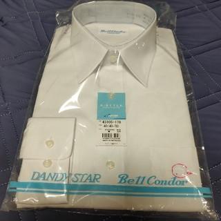 アイトス(AITOZ)のアイトス 長袖カッターシャツ ホワイト 40cm AZ43105-178(シャツ)