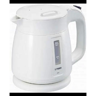 タイガー(TIGER)の湯沸かし器 TIGER 電気ケトル (0.8l) ホワイト PCF-A080-W(電気ケトル)