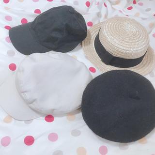 ローリーズファーム(LOWRYS FARM)の帽子 4点セット(キャップ)