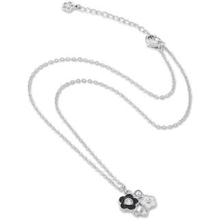 マリークワント(MARY QUANT)の新品 マリークワント エポデイジー サークル ネックレス 黒(ネックレス)