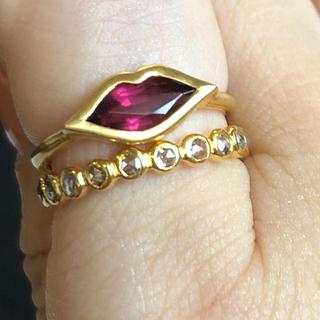 ローズカットブラウンダイヤモンドフルエタニティリング検索マリーエレーヌ (リング(指輪))