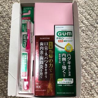 サンスター(SUNSTAR)のサンスター 歯磨きセット(歯ブラシ/歯みがき用品)