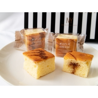 ★東京土産 大人気★N.Y.パーフェクトチーズ メープルチーズ 5個(菓子/デザート)