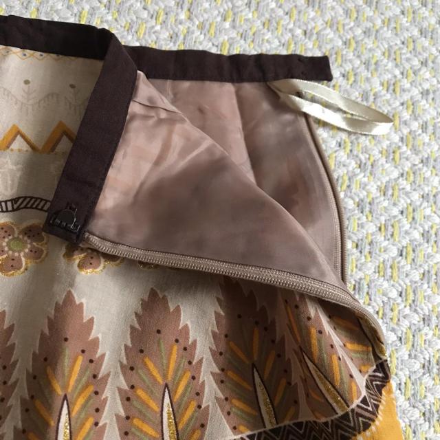 ベルメゾン(ベルメゾン)の柄スカート(ふくらはぎ丈) レディースのスカート(ひざ丈スカート)の商品写真