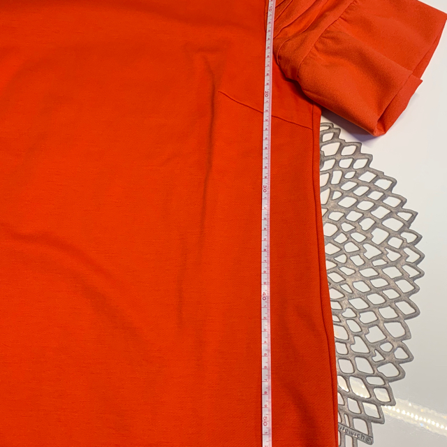 BARNEYS NEW YORK(バーニーズニューヨーク)のバーニーズニューヨーク 半袖 オレンジ 40 レディースのトップス(Tシャツ(半袖/袖なし))の商品写真