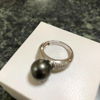 黒蝶パールリング(リング(指輪))