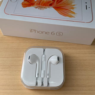 アップル(Apple)のiPhone6s 純正 イヤホン(ヘッドフォン/イヤフォン)