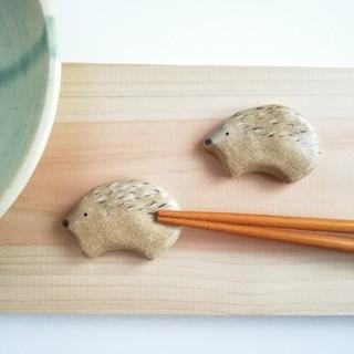 ハリネズミ 箸置きセット(テーブル用品)