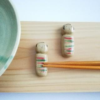 こけし 箸置きセット(キッチン小物)
