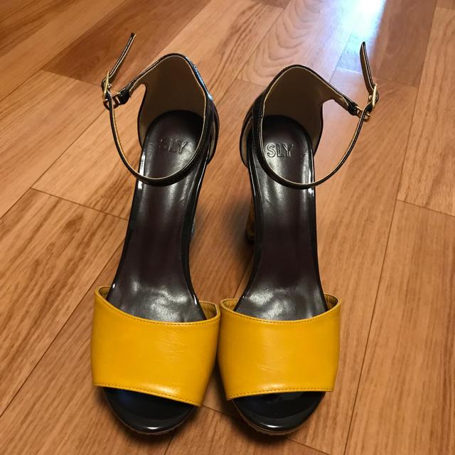 SLY(スライ)のスライ 靴 レディースの靴/シューズ(サンダル)の商品写真