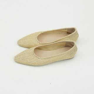 トゥデイフル(TODAYFUL)のBraid Flat Shoes TODAYFUL 2019 Fall(ハイヒール/パンプス)
