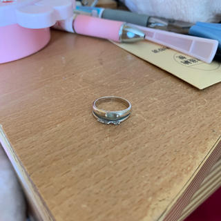 ピンキーリング アクアマリン(リング(指輪))