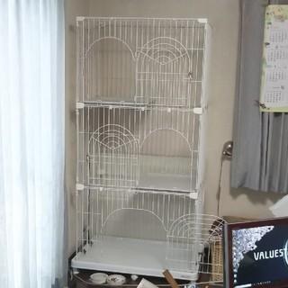 アイリスオーヤマ(アイリスオーヤマ)の 猫用 ケージ(猫)