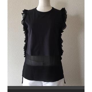 ヌメロヴェントゥーノ(N°21)のヌメロヴェントゥーノ フリルトップス(Tシャツ(半袖/袖なし))