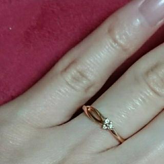 ヨンドシー(4℃)の 4℃  ダイヤ リング  指輪(リング(指輪))