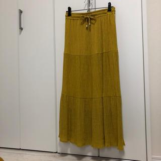 ドレスキップ(DRESKIP)のドレスキップティアードスカート。(ロングスカート)